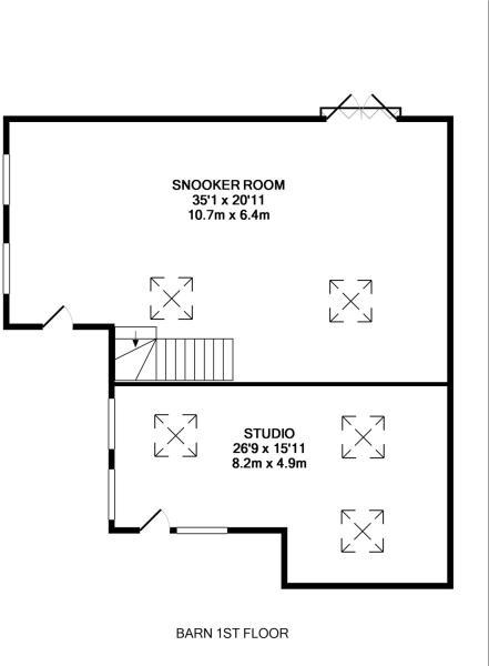 Barn- First Floor