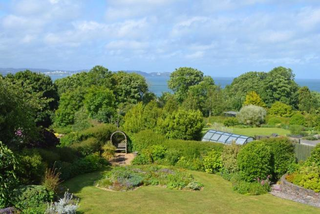 Garden and Sea View