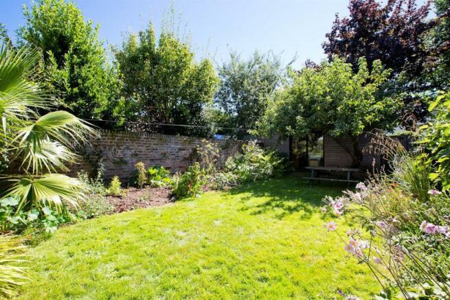 Stunning rear garden