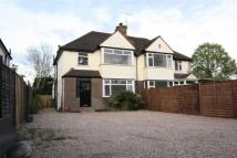 3 bedroom semi detached property in Balcombe Road, Horley...