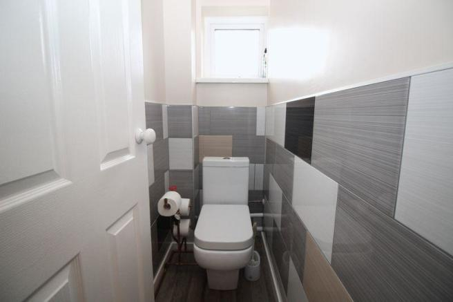 Refitted Toilet