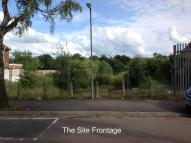 Plot for sale in Henshaw Road...