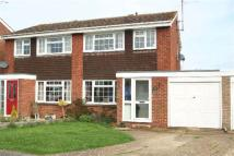 semi detached property for sale in Glebe Road, Deanshanger...