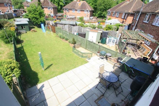 rear garden above vi
