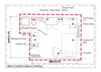 Studio flat in NORTH STUDIOS (OPPOSITE...