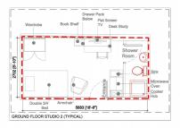 Studio apartment in NORTH STUDIOS (OPPOSITE...