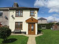 semi detached home for sale in Warwick Road, Brynmawr...