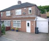 semi detached home for sale in Larch Avenue, Wickersley...