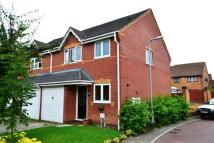 Terraced home for sale in Denston Close...