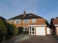 semi detached home in Bearley Croft, Shirley
