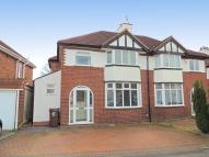 semi detached property for sale in Cheshire Avenue, Shirley