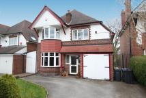 4 bed Detached home for sale in Ivy Road, Boldmere...