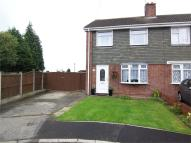 semi detached house for sale in Newstead Close, Selston...