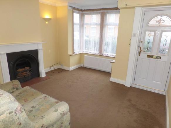 Living room alter...