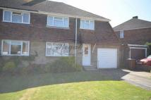 semi detached house in Gainsborough Close...