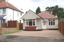 Detached Bungalow in Le May Avenue, London...