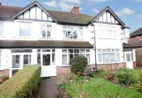Terraced home in Manor Park Road...