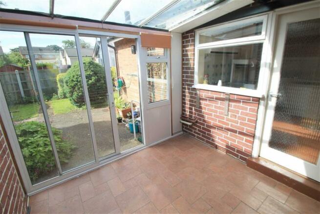 Sun Room/Rear Porch