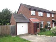 WITH A CONSERVATORY semi detached house to rent