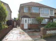 3 bedroom semi detached property to rent in The Drive, Feltham, TW14