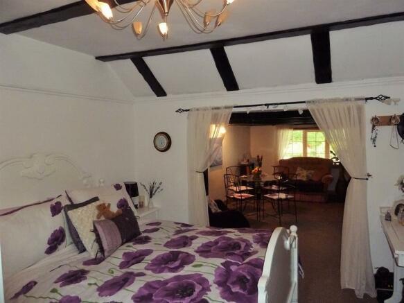 Studio Bedroom One with En-suite Shower room