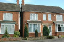 3 bedroom semi detached house in Boston Road, Spilsby.