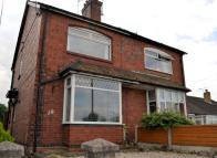 2 bed semi detached property in Alsager Road, Winterley
