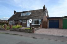 semi detached house in Hawthorne Drive, Sandbach