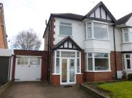 3 bed semi detached home for sale in Barrows Lane, Yardley...