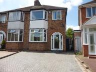 3 bedroom semi detached home for sale in Elmcroft Road, Yardley...