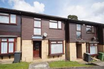 Terraced house in Montrose Close...