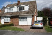 semi detached property to rent in Fairwater Road, Woodley