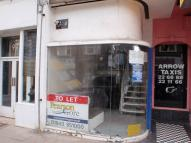 Northdown Road Shop to rent