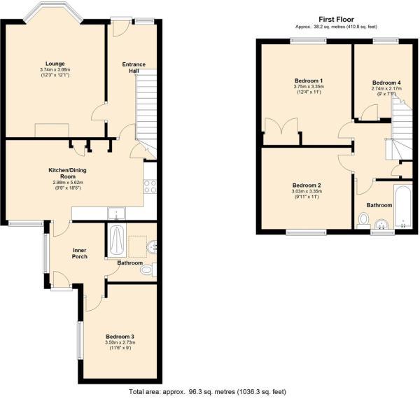 April Cottage Floor