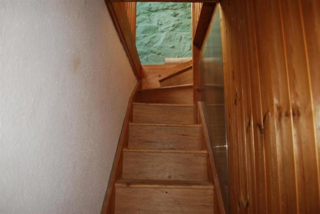 Stairs to Attic Spac