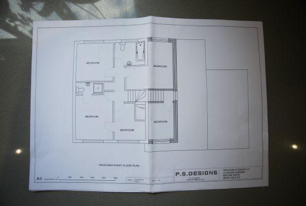 1st floor Plans to extend