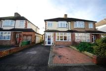 semi detached home in Shortwood Avenue...