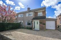 semi detached property for sale in Cowper Crescent, Bengeo...