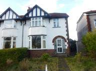 semi detached property for sale in Chester Road, Wrexham...