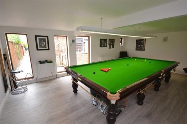 CONVERTED GAMES ROOM