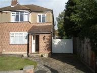semi detached property to rent in Grange Road, Orpington...