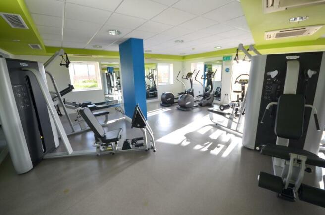 Communal gym: