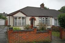 Semi-Detached Bungalow in Hillview Road...