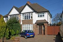 semi detached property in Kingsway, Petts Wood...