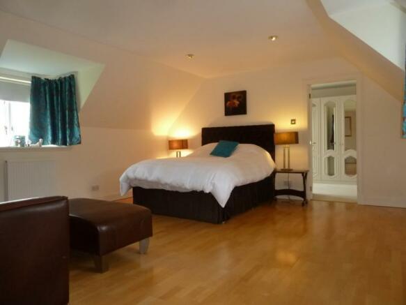 Townhead Lodge - Master Bedroom