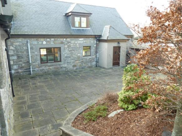 Townhead Lodge - Back Garden