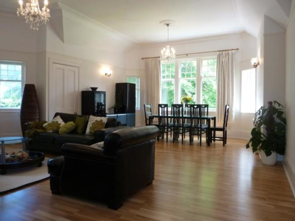 13 Rubislaw Den North, Flat 2 - Lounge and Dining