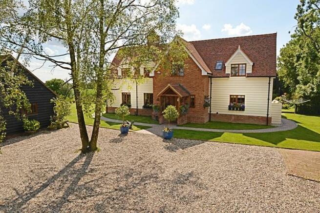 4 bedroom detached house for sale in christmas cottage chickney road henham bishops stortford for Swimming pools in bishops stortford