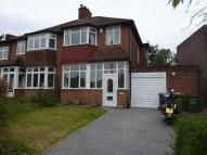 3 bed semi detached property in Mereworth Drive...
