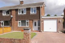 3 bedroom semi detached property in Colenzo Drive, Andover